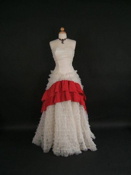 Stunning Vintage 1950's Prom Dress/ 1950's Wedding Dress