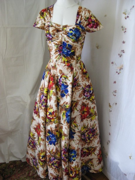 Beautiful Floral Ball Gown
