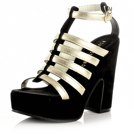 thick chunky heeled 90s inspired platforms