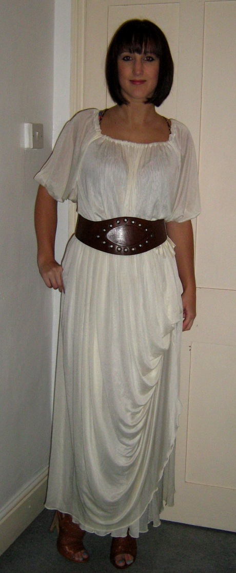Dressember Day 16 What I Wore Grecian Vintage Dress