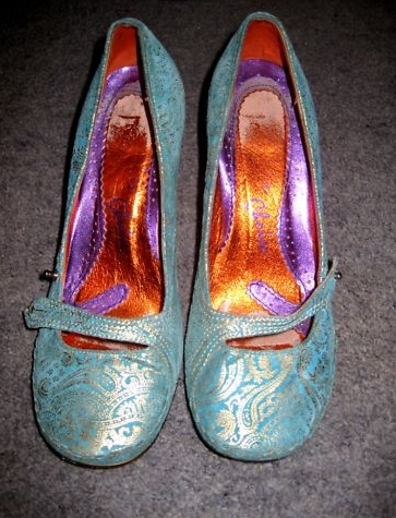 Irregular Choice Swan Heels