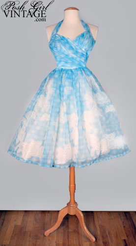 Gorgeous vintage 50s dress from Posh Girl Vintage