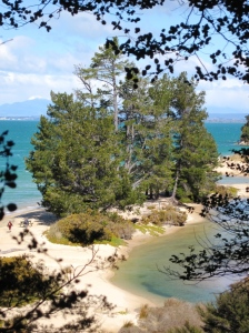 Beaches in the Abel Tasman National Park