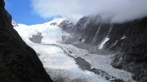 The Franz Josef Glacier from Robert's Point